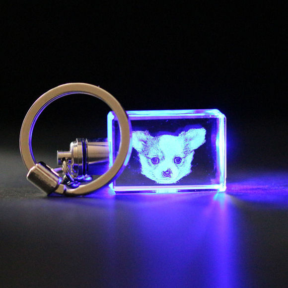 Picture of 3D Laser Crystal Gift in Heart