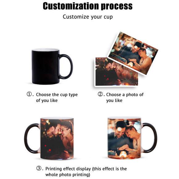 Immagine di Tazza con foto magica personalizzata: la tua bella foto sulla tazza per uso quotidiano