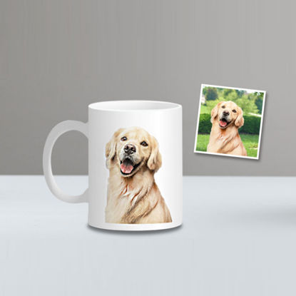 Picture of Personalized Standard Photo Mug - Customize With Your Lovely Photo & Text