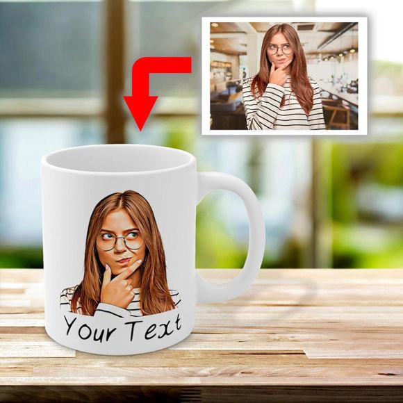 Immagine di Tazza fotografica standard personalizzata - Personalizza con foto e testo adorabili