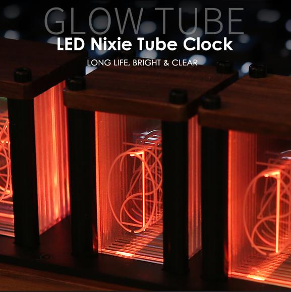 Image de DIY RGB LED Nixie Tube Clock - Meilleurs cadeaux de décoration intérieure