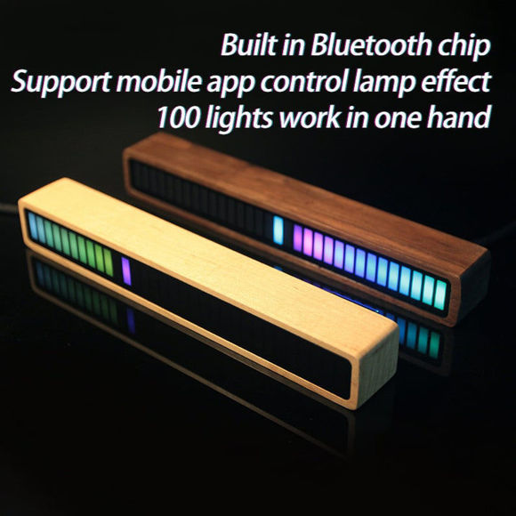 Image de Music Reactive RGB Led Light - Lampe de rythme de musique à LED colorée