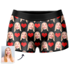 Picture of Custom Men's Heart-shaped Boxer Briefs