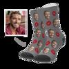 Immagine di Calzini personalizzati per il viso - Kiss