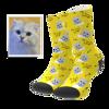Image de Chaussettes photo personnalisées pour animaux de compagnie - Mon adorable animal de compagnie