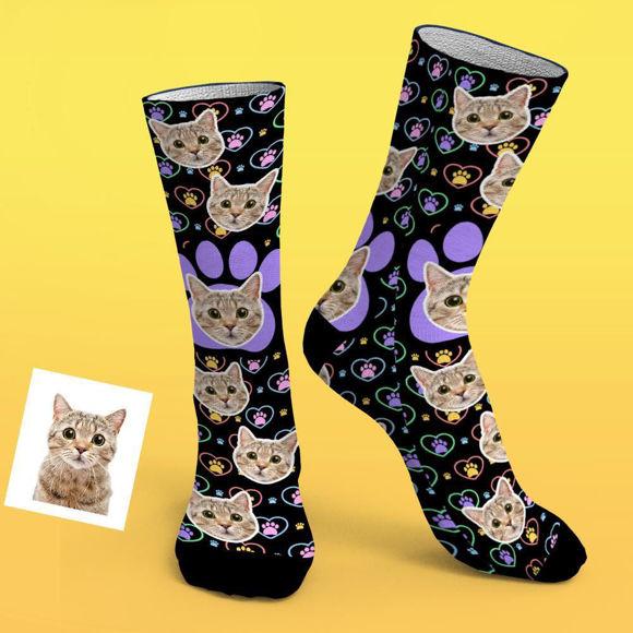 Immagine di Calzini personalizzati con foto per gli amanti degli animali domestici