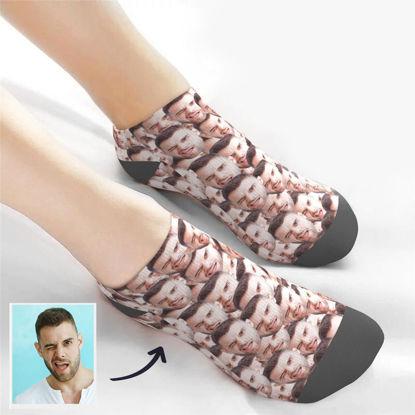 Immagine di Calzini personalizzati con foto Calzini bassi alla caviglia