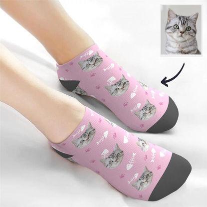 Immagine di Calzini personalizzati per animali domestici Calzini alla caviglia con taglio basso