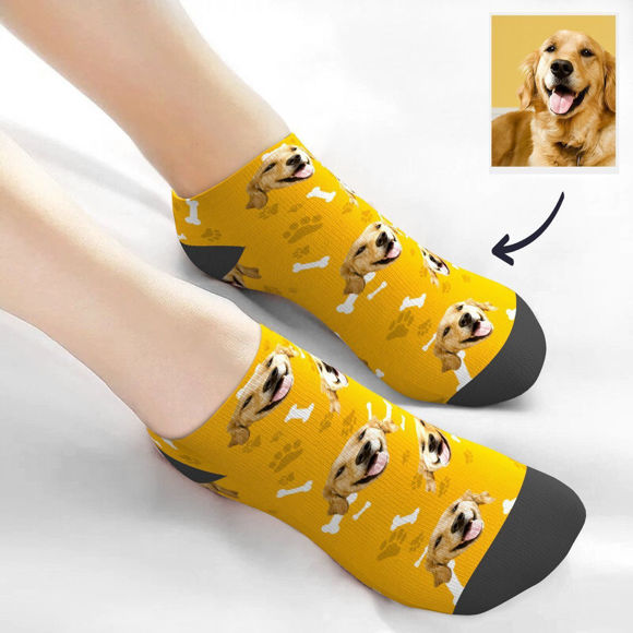 Immagine di Calzini corti personalizzati per animali domestici