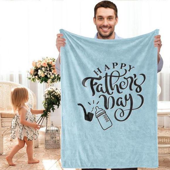 Immagine di Coperte personalizzate: il miglior regalo per il papà