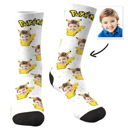 Picture of Custom Pikachu Face Socks