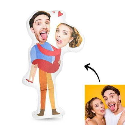 Immagine di Regalo personalizzato per cuscino fotografico per matrimonio
