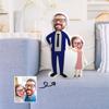 Immagine di Cuscino fotografico personalizzato Regali perfetti per padre e figlia