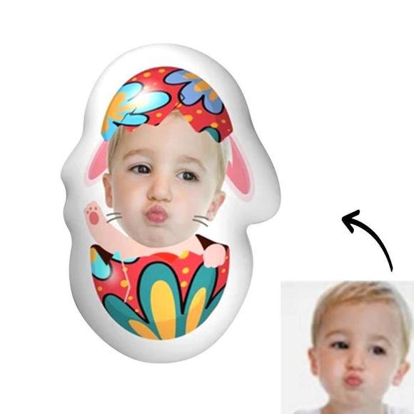 Immagine di Cuscino fotografico personalizzato per adorabile bambino