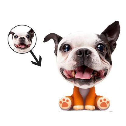 Immagine di Cuscini per il viso personalizzati con foto Divertenti animali domestici