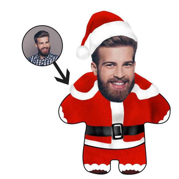 Immagine di Cuscino fotografico personalizzato Buon Natale