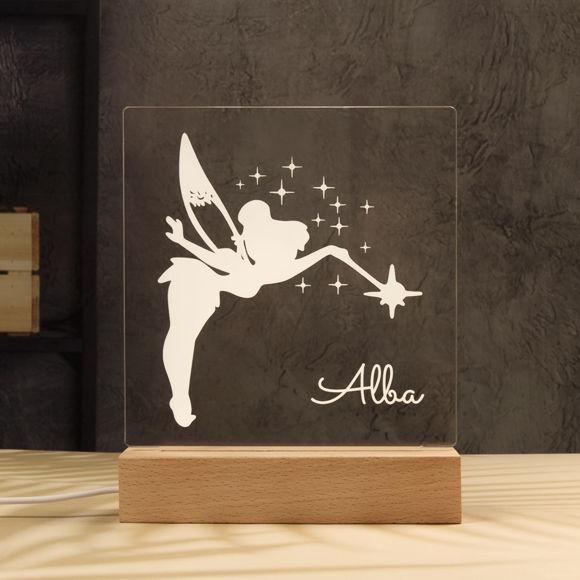 Immagine di Luce notturna fata - Personalizzata con il nome di tuo figlio