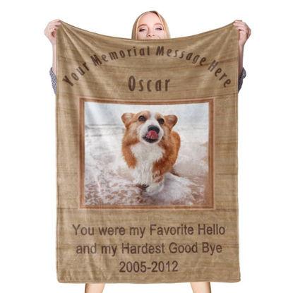 Immagine di Regali commemorativi per coperte fotografiche personalizzate