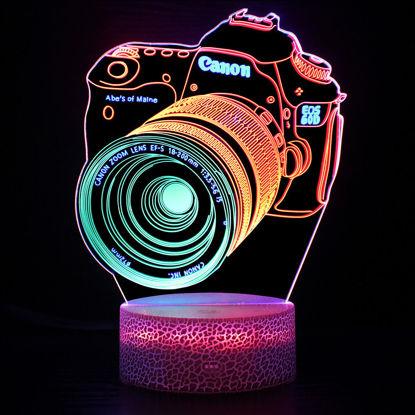 Immagine di Luci notturne a LED colorate 3D Illusion in varie forme - I migliori regali per i bambini
