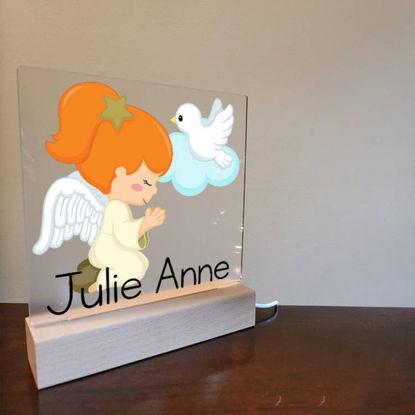 Picture of Custom Angel Girl Night Light For Gift